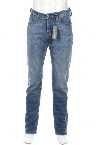 Мъжки дънки Diesel, Размер M, Цвят Син, 98% памук, 2% еластан, Цена 98,47лв.