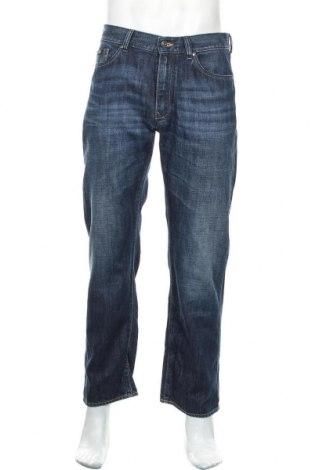 Мъжки дънки Hugo Boss, Размер M, Цвят Син, Памук, Цена 43,20лв.