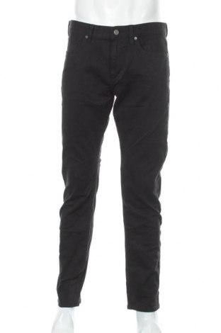 Blugi de bărbați S.Oliver, Mărime L, Culoare Negru, 80% bumbac, 18% viscoză, 2% elastan, Preț 131,74 Lei