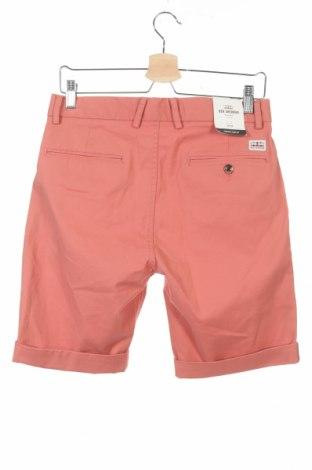 Мъжки къс панталон Ben Sherman, Размер S, Цвят Розов, 97% памук, 3% еластан, Цена 22,94лв.