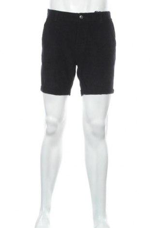 Мъжки къс панталон Brave Soul, Размер L, Цвят Черен, 70% памук, 30% вискоза, Цена 19,98лв.