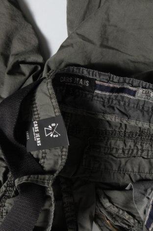 Мъжки къс панталон Cars Jeans, Размер S, Цвят Сив, 100% памук, Цена 27,65лв.
