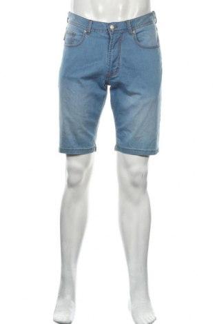 Мъжки къс панталон Christian Berg, Размер M, Цвят Син, 99% памук, 1% еластан, Цена 16,55лв.