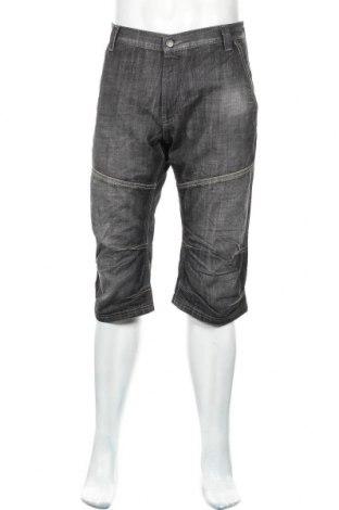 Мъжки къс панталон Dressmann, Размер L, Цвят Сив, 100% памук, Цена 6,30лв.