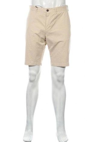 Ανδρικό κοντό παντελόνι Faconnable, Μέγεθος M, Χρώμα  Μπέζ, 97% βαμβάκι, 3% ελαστάνη, Τιμή 73,07€