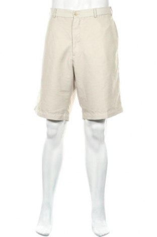 Мъжки къс панталон Joseph Abboud, Размер XL, Цвят Бежов, Полиестер, Цена 11,20лв.