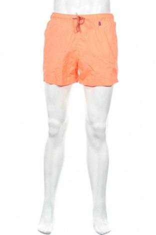 Ανδρικό κοντό παντελόνι Lefties, Μέγεθος M, Χρώμα Πορτοκαλί, Πολυεστέρας, Τιμή 8,41€