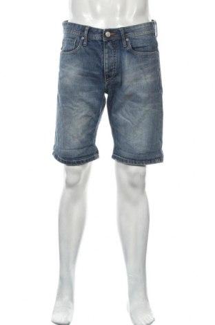 Мъжки къс панталон Originals By Jack & Jones, Размер L, Цвят Син, Памук, Цена 24,08лв.