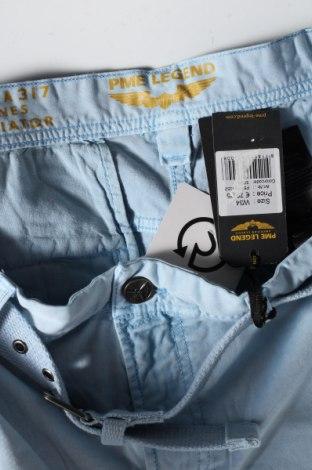 Мъжки къс панталон Pme Legend, Размер L, Цвят Син, 97% памук, 3% еластан, Цена 20,81лв.