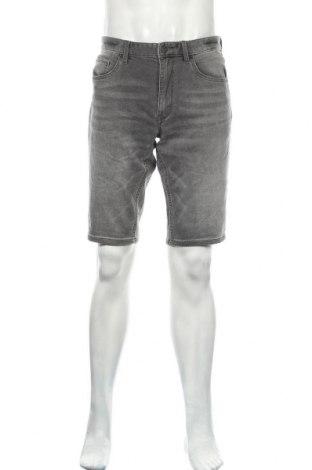 Мъжки къс панталон S.Oliver, Размер M, Цвят Сив, 89% памук, 10% полиестер, 1% еластан, Цена 18,00лв.