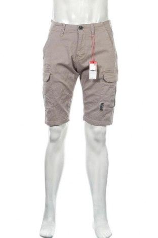 Pantaloni scurți de bărbați S.Oliver, Mărime S, Culoare Bej, 98% bumbac, 2% elastan, Preț 116,94 Lei