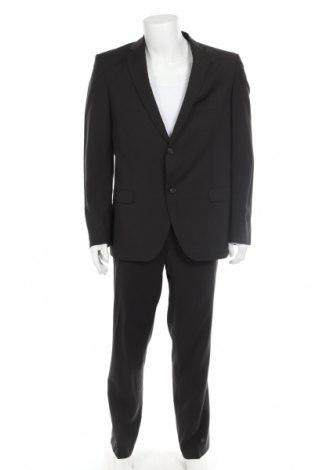 Costum de bărbați Cinque, Mărime L, Culoare Maro, Lână, Preț 250,68 Lei