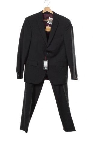 Ανδρικό κοστούμι Club Of Gents, Μέγεθος S, Χρώμα Μπλέ, 68% πολυεστέρας, 30% μαλλί, 2% ελαστάνη, Τιμή 22,48€