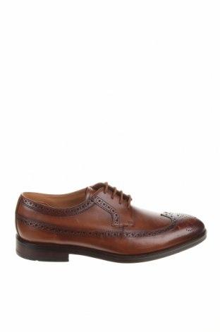 Мъжки обувки Clarks, Размер 44, Цвят Кафяв, Естествена кожа, Цена 107,55лв.