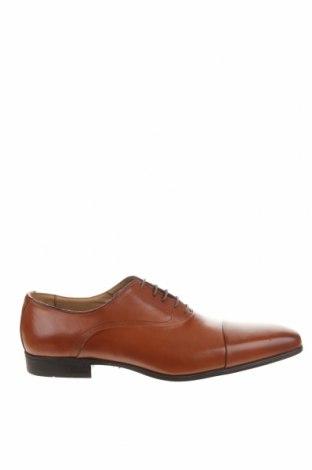 Мъжки обувки Giorgio 1958, Размер 47, Цвят Кафяв, Естествена кожа, Цена 59,75лв.