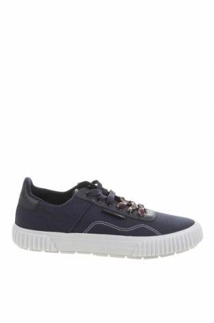 Ανδρικά παπούτσια Lyle & Scott, Μέγεθος 42, Χρώμα Μπλέ, Κλωστοϋφαντουργικά προϊόντα, γνήσιο δέρμα, Τιμή 27,00€