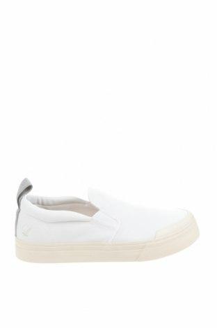 Ανδρικά παπούτσια Lyle & Scott, Μέγεθος 44, Χρώμα Λευκό, Κλωστοϋφαντουργικά προϊόντα, Τιμή 26,41€