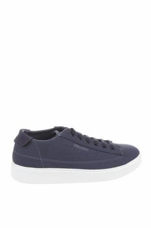 Мъжки обувки Lyle & Scott, Размер 43, Цвят Син, Текстил, естествен велур, Цена 54,08лв.