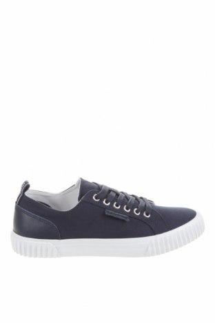 Мъжки обувки Lyle & Scott, Размер 40, Цвят Син, Текстил, естествена кожа, Цена 42,25лв.