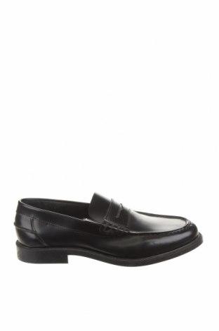 Ανδρικά παπούτσια Mo, Μέγεθος 40, Χρώμα Μαύρο, Γνήσιο δέρμα, Τιμή 25,08€