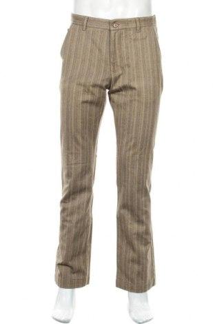 Мъжки панталон Alberto, Размер M, Цвят Бежов, 50% памук, 32% полиестер, 18% вискоза, Цена 15,84лв.