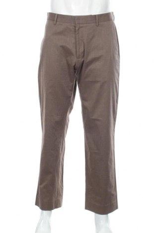 Мъжки панталон Banana Republic, Размер M, Цвят Кафяв, Памук, Цена 12,36лв.