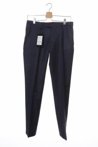 Pánské kalhoty  Cinque, Velikost S, Barva Modrá, 62% vlna, 21% polyester, 17% polyamide, Cena  253,00Kč