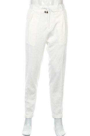 Pantaloni de bărbați Liu Jo, Mărime L, Culoare Alb, 95% poliester, 5% elastan, Preț 93,22 Lei