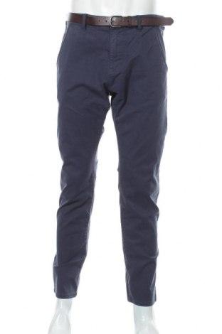 Pantaloni de bărbați S.Oliver, Mărime L, Culoare Albastru, 98% bumbac, 2% elastan, Preț 82,50 Lei