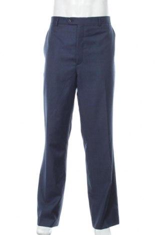 Мъжки панталон Stafford, Размер XL, Цвят Син, 52% вълна, 48% полиестер, Цена 29,40лв.