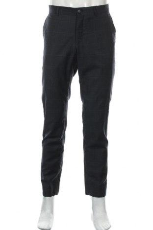 Мъжки панталон Tiger Of Sweden, Размер L, Цвят Син, 80% вълна, 10% полиестер, 10% други нишки, Цена 16,28лв.