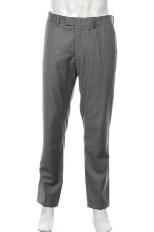Мъжки панталон Tiger Of Sweden, Размер L, Цвят Сив, Вискоза, Цена 12,08лв.