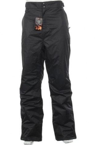 Мъжки панталон за зимни спортове, Размер XXL, Цвят Черен, Полиестер, Цена 59,50лв.