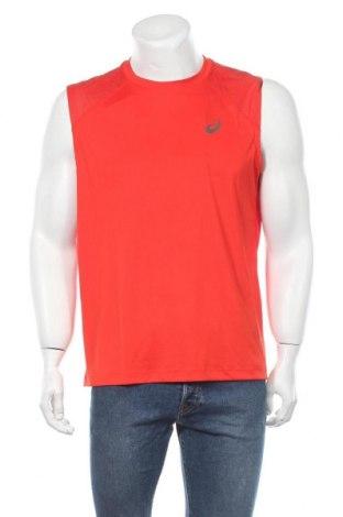 Мъжки потник ASICS, Размер L, Цвят Оранжев, Полиестер, Цена 14,04лв.