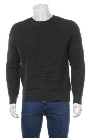 Мъжки пуловер Armedangels, Размер S, Цвят Зелен, 99% памук, 1% еластан, Цена 43,60лв.