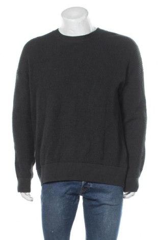 Мъжки пуловер Armedangels, Размер L, Цвят Зелен, 99% памук, 1% еластан, Цена 47,60лв.