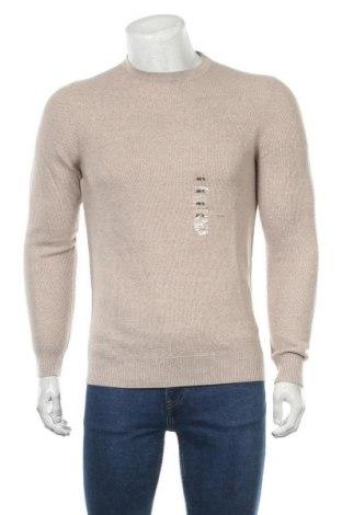 Pulover de bărbați Christian Berg, Mărime S, Culoare Bej, 50% lână, 50% poliacrilic, Preț 64,97 Lei