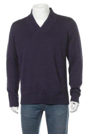 Мъжки пуловер Express, Размер L, Цвят Лилав, Памук, Цена 16,38лв.