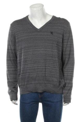Мъжки пуловер Express, Размер XL, Цвят Сив, 60% памук, 40% полиестер, Цена 17,64лв.
