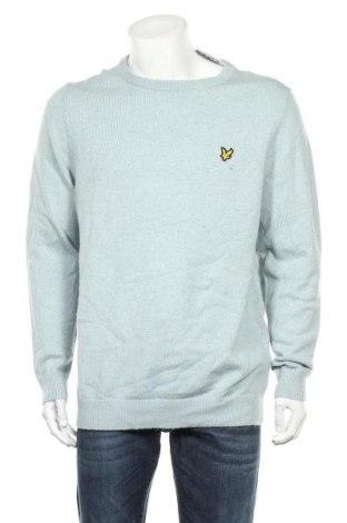 Ανδρικό πουλόβερ Lyle & Scott, Μέγεθος XXL, Χρώμα Μπλέ, 80% μαλλί, 20% πολυαμίδη, Τιμή 30,81€
