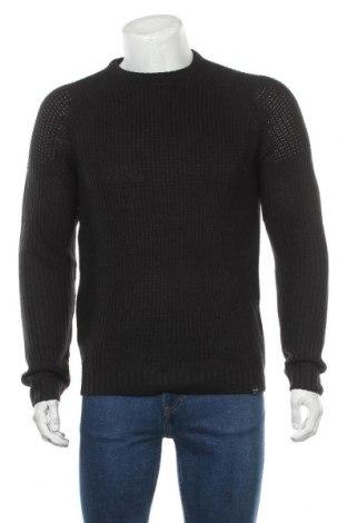 Мъжки пуловер Only & Sons, Размер M, Цвят Черен, Акрил, Цена 24,30лв.