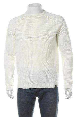Ανδρικό πουλόβερ Only & Sons, Μέγεθος L, Χρώμα Λευκό, Ακρυλικό, Τιμή 17,78€