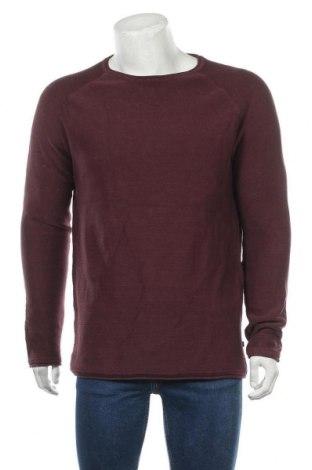 Ανδρικό πουλόβερ Q/S by S.Oliver, Μέγεθος XL, Χρώμα Κόκκινο, Βαμβάκι, Τιμή 34,41€