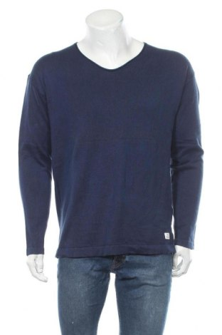 Pánský svetr  Tom Tailor, Velikost L, Barva Modrá, Bavlna, Cena  353,00Kč