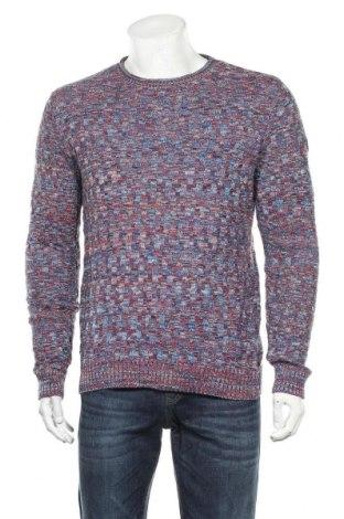 Ανδρικό πουλόβερ Tom Tailor, Μέγεθος L, Χρώμα Πολύχρωμο, Βαμβάκι, Τιμή 16,01€