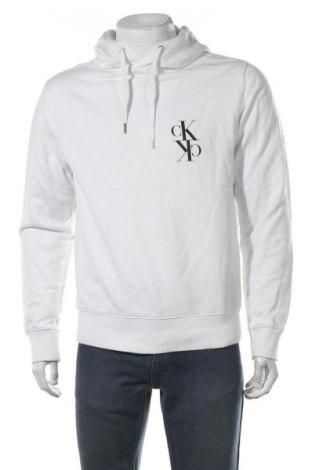 Ανδρικό φούτερ Calvin Klein Jeans, Μέγεθος S, Χρώμα Λευκό, Βαμβάκι, Τιμή 31,18€