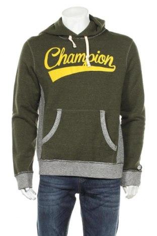Hanorac de bărbați Champion, Mărime L, Culoare Verde, Bumbac, Preț 147,53 Lei