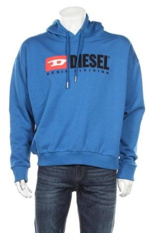 Hanorac de bărbați Diesel, Mărime M, Culoare Albastru, Bumbac, Preț 156,84 Lei