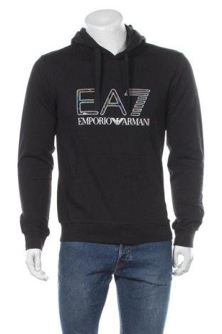 Мъжки суичър Emporio Armani, Размер M, Цвят Черен, Памук, Цена 114,40лв.