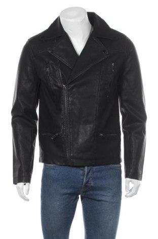 Pánská kožená bunda  New Look, Velikost M, Barva Černá, Eko kůže, Cena  851,00Kč
